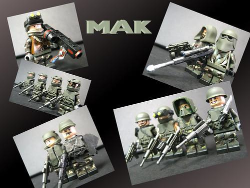 Custom minifig MAK