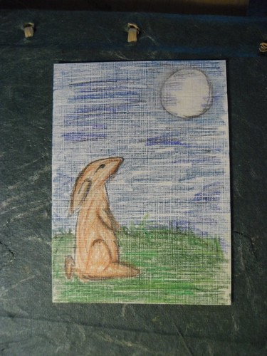 ACEO by Floating with the Stars