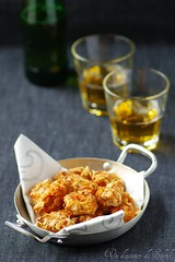 Chicken nuggets corn flakes (Un dejeuner de soleil) Tags: food chicken meat carne pollo nuggets tandoori poulet viande moutarde fritto cornflaks
