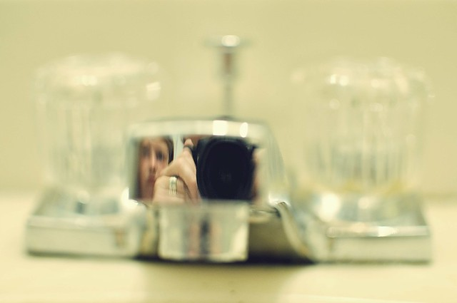 reflection in faucet