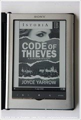 Joyce Yarrow | Code of Thieves (Dit is Suzanne) Tags: fiction books literature ebook boeken engels detective literatuur детектив книги ikleesnu views400 fictie verenigdestaten литература img8109 ©ditissuzanne noncoloursincolour canoneos40d фикция lezeneenprimaalternatiefvoorflickr readingagreatalternativeforflickr читатькнигивместофликратакжеувлекательно электроннаякнига sigma18250mm13563hsm 02052013 18052013 joyceyarrow codeofthieves