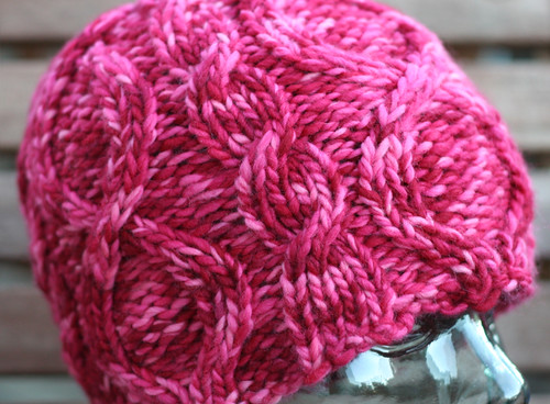 Pink hat for Jenny