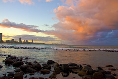 Burleigh Heads_2168 (Michael Dawes) Tags: autumn storm beach weather sunrise season pacific country australia queensland temperature towns soe dawes goldcoast burleighheads smallwaves topshots fineartphotos shieldofexcellence superbmasterpiece isawyoufirst michaeldawes goldstaraward nicetemperature mytopshots seasontype wavetype queenslandmostinteresting