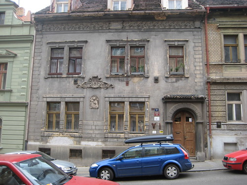 Rundown house in Prague 6