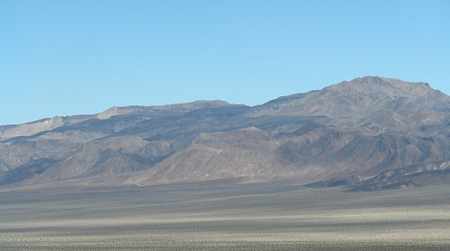 Crossing Saline Valley