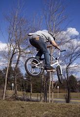 Cory Van Dyke (Mike,K) Tags: nature lens nikon bmx 55mm skatepark biking van dyke cory mahwah 18mm barspin d40