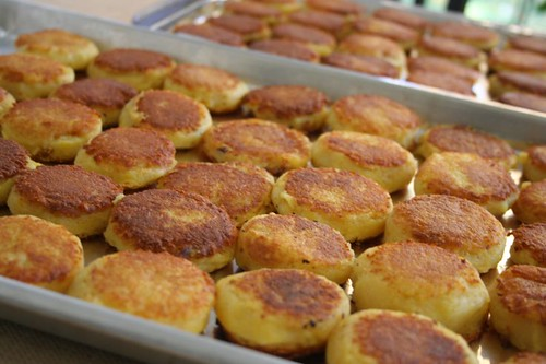 Potato Patties: the batch