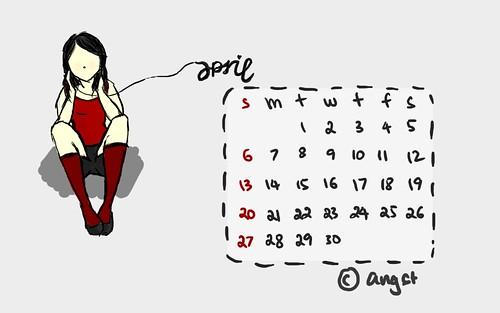 Desktop Calendar 04/2008 by +Angst, on Flickr