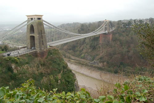 Clifton Suspension Bridge in Bristol por Fabi168.