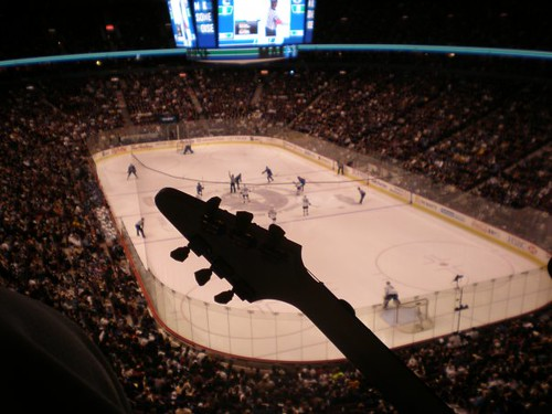 Canucks game, Vancouver Flying Vees