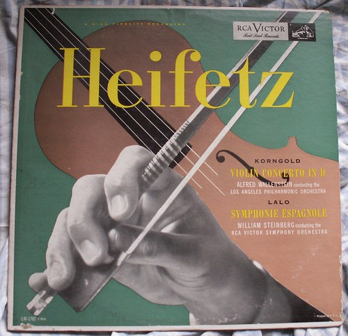 Heifetz Plays Korngold and Lalo