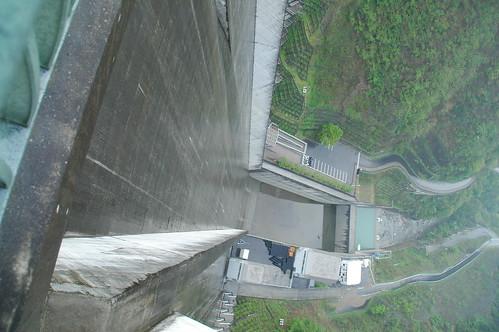 浦山ダム 堤高156.0m