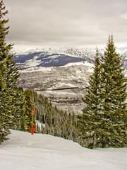 BJ654 Beaver Creek Skiing (listentoreason) Tags: winter usa mountain snow plant nature water america landscape colorado skiing unitedstates scenic favorites places olympus event co beavercreek activity conifer score30 olympusc4040z c4040z