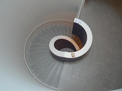 rounded (Gabrielle Z) Tags: abstract portugal museum architecture stairs grey lisboa lisbon curves escaleras linescurves overtheexcellence theturntable bestminimalshot berardocollectionmuseum gabriellez