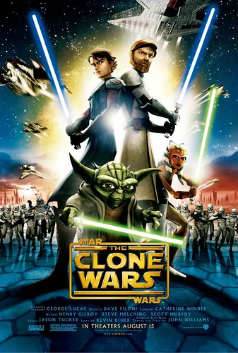 Poster star wars the clone wars George Lucas