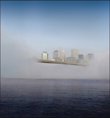 Floating City (Rick Elkins) Tags: newyorkcity sunlight mist newyork fog buildings bravo skyscrapers manhattan financialdistrict brooklynbridge eastriver themoulinrouge blueribbonwinner firstquality flickrsbest fivestarsgallery mywinners platinumphoto anawesomeshot aplusphoto flickrplatinum goldenphotographer diamondclassphotographer flickrdiamond megashot focuslegacy theperfectphotographer theroadtoheaven thegoldendreams masterpiecesoflightanddark rickelkins
