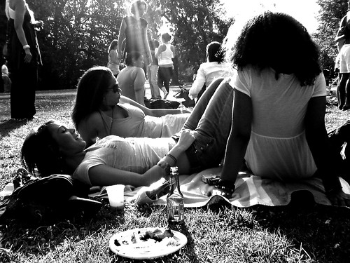 Picnic in the park, yummie  :)