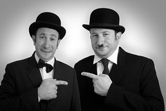 Laurel and Hardy costume