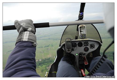 Y'a bien un pilote dans l'ULM !