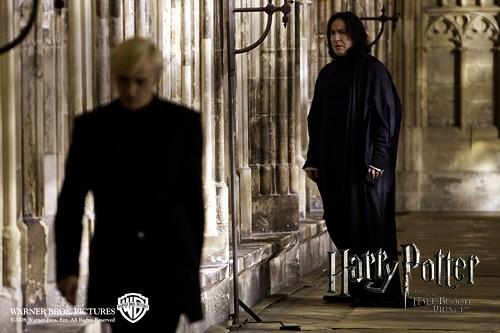 Harry Potter y el misterio del príncipe, Draco y Snape