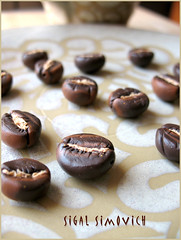 Coffee beans - Beads -  (sigal simovich) Tags: sculpture coffee beads polymerclay fimo coffeebeans
