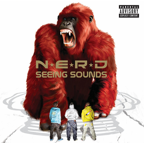 N*E*R*D* Seeing Sounds Album Cover