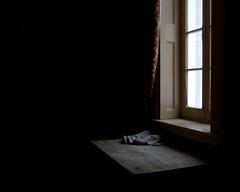Just Window (Davey S) Tags: black castle window simplicity simple dundurn