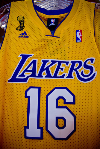 Pau Gasol - Authentic Finals Jersey