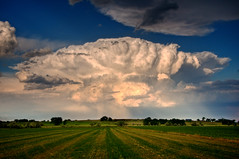 Mushroom Cloud (david.evenson) Tags: colorado cell thunder lyons cumulonimbus supercell ourplanet vosplusbellesphotos