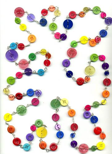 THE Mother Of All Button Necklaces por itsalovelycake.