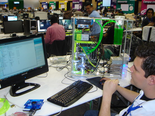 Campus Party Colombia moding