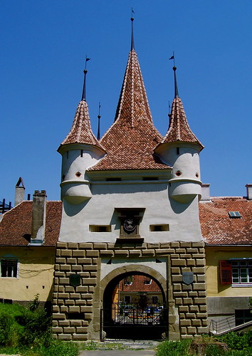 St Catherine's Gate, Braşov, Romania