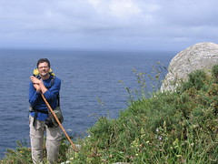 "Michael at Finisterre • <a style=""font-size:0.8em;"" href=""http://www.flickr.com/photos/48277923@N00/2626529912/"" target=""_blank"">View on Flickr</a>"