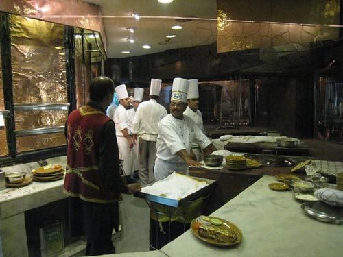 Bukhara's kitchen