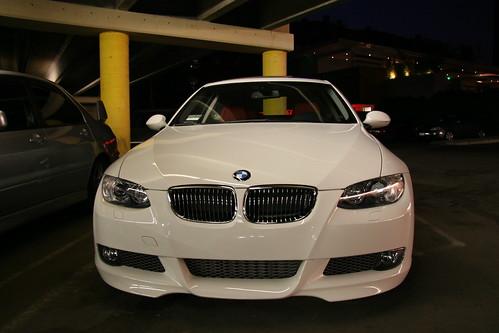 Alpine White 2008 BMW 335i Coupe MT