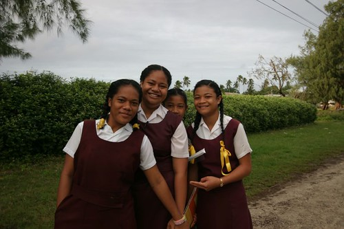 Uniforms in Tonga.