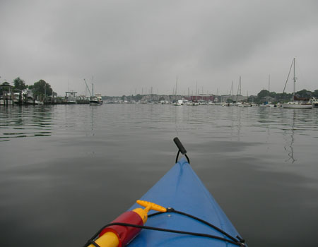 Entering Falmouth Harbor