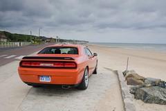 dodge-challenger-srt8-at-the-beach (dodge challenger1) Tags: road trip car magazine se muscle dodge motor hemi trend 2008 2009 rt v8 challenger srt8 08dodgechallengersrt8
