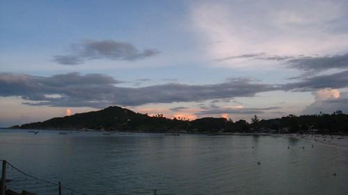 Sunset from Sunrise Beach
