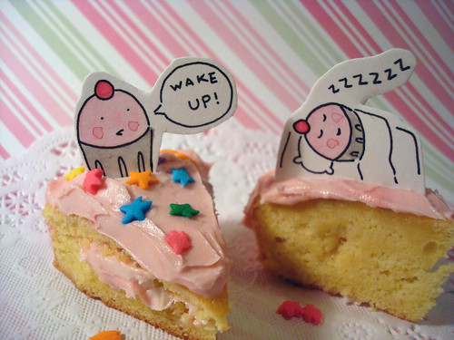 Wake up for Cake!