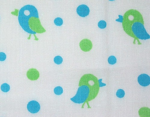 Mod Birds and Polka Dots