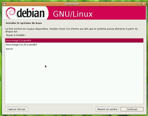 Noyau 2.6.25 sous Debian Lenny