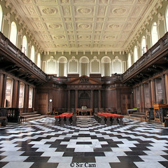 Gibbs' Senate House, 1730 (Sir Cam) Tags: cambridge woodwork university interior architect senate