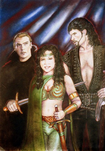 Kiari with Hades and Ares