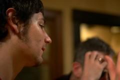 Ben and his Facehair, including Bokeh Jim (gullevek) Tags: portrait japan geotagged iso800 tokyo ben bokeh 日本 東京 渋谷 peachfuzz 渋谷区 人間関係 epsonrd1s voigtländernoktonclassic40mmf14mc geo:lat=35661439 benoconnell geo:lon=139698998