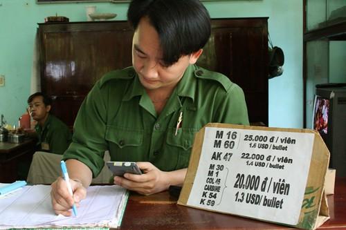 Vietnam - pick your weapon