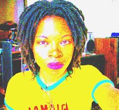 jamaica3 (~JaNeLLe~) Tags: girl yellow shirt dreadlocks jamaica