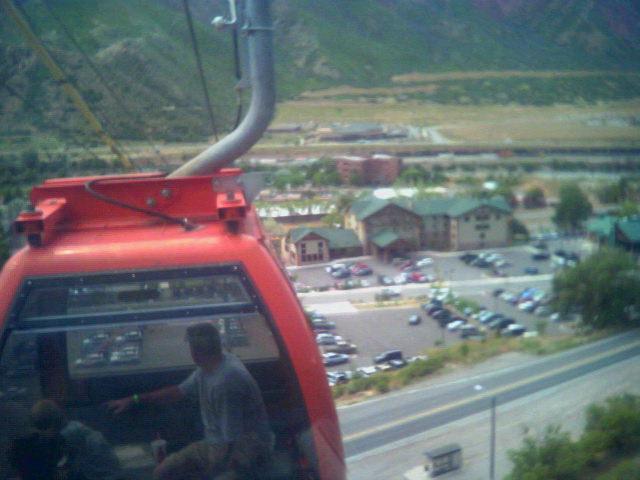 Hotel tram view