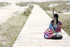 i want to go somewhere (Keely Yount) Tags: ocean beach myrtlebeach sand sydney towel sidewalk keely keels yount visiongroup overtheexcellence