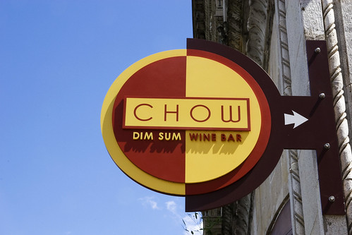 Dim sum and wine